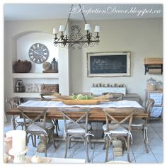 Fall Home Tour Part 2, fall dining ideas, neutral fall home decor, french country Fall ideas