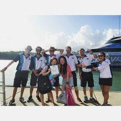 20/11(fri) the first diving at great barrier reef #greatbarrierreef#diving#superbeautiful#cairns#Australia#vacation#holiday#trip#QLD#ケアンズ#オーストラリア#とりあえずなにって#お兄さんかっこよすぎた#たまらん#いけめん#しかも#やさしい#一生かっこいいしか言うてなかった#めっちゃ話しかけてくれたけど緊張して全然はなせへんかった#shyでてもた#照れた#ちなみにゆりえの後ろの人な#実物すごい#完全なる目の保養#ありがとうございました#ぴよぴよ by yurietty14 http://ift.tt/1UokkV2