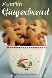 Gingerbread Recipe; hoping to make these this Christmas!