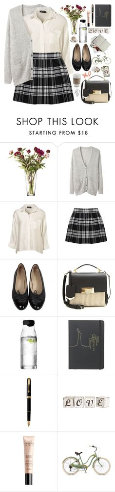 """2352. No school, no stress..."" by chocolatepumma ❤ liked on Polyvore featuring iittala, Band of Outsiders, Alice + Olivia, Chanel, Balenciaga, Menu, Marc by Marc Jacobs, Parker, Guerlain and Chronicle Books"