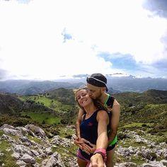No road is long with good company   : @martukisruiz & @alvarosdlf : @alvarosdlf -  Spain  #Trailrun #trailrunning #mountainrunning #traillove #getofftheroad #trailchix #runforlife #runnersworld #asturias #running #gopro #goprohero5 #goprooftheday #peaks #couplerun #salomon #instarunners #epictrailrunning #fitness #landscape #hoko #wild #nature #perfect #mountain #runnersshoutouts #paradise #worldplaces #asturias_ig #ig_asturias