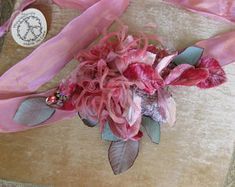 Wedding Dress Sash Boho wedding. flower sash ribbon sash | Etsy Wedding Dress Sash, Wedding Gowns, Vintage Lace, Vintage Flowers, Boho Wedding Flowers, Organza Ribbon, Picture Show, Bows, Wedding Ideas