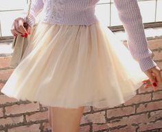 Lovely Tulle Women Skirts, High Quality Women Skirt, Tulle Skirts, Skirts 2015