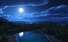 Los secretos de la Luna...