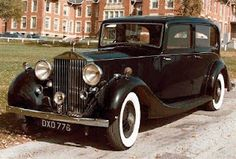 Rolls-Royce Wraith (1938, UK), I'm reading NOS4A2, so I just had to look up this picture.