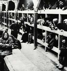 The Holocaust.  I visited Dachau concentration camp and this is how the prisoners slept.  Very sad.