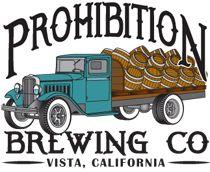 Prohibition Brewing Company 2004 E Vista Way, Vista, CA 92084 Phone:(760) 295-3525