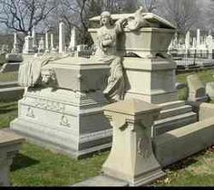 """William Warner, Jr  Birth: 1818  Death: Jan. 20, 1889  Coal Merchant. A child of inherited wealth, he was the son of William and Anna Catharine Warner. During his father's leadership, Warner and Company, a coal business, became a DuPont """"Allied Company."""" The graves of Warner's brother, George W., and sister, Catherine Anna, adjoin and are seen in the foreground."""