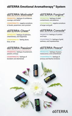 With six proprietary essential oil blends representing common categories of emotional well-being, the doTERRA Emotional Aromatherapy System makes emotional aromatherapy easy and accessible for anyone dealing with common negative emotions.