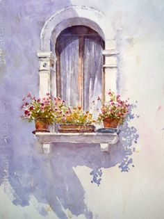 Art By Boon - Joanne Boon Thomas, watercolor, love the shadows!