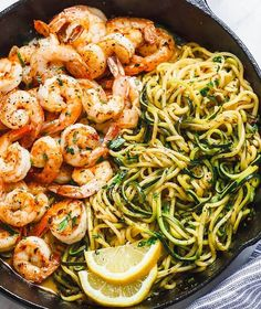 LEMON GARLIC BUTTER SHRIMP WITH ZUCCHINI NOODLES – HEAVENLY! THESE DELICIOUS SHRIMPS MAKE A FANTASTIC COMPLETE MEAL WITH HEALTHY ZUCCHINI NOODLES. THE AROMA AND FLAVOR OF THE LEMON GARLIC BUTTER SAUCE ARE SERIOUSLY THE BEST! LOW CARB, PALEO, KETO, AND GLUTEN-FREE, ENJOY FOR A LIGHT LUNCH, DINNER, …