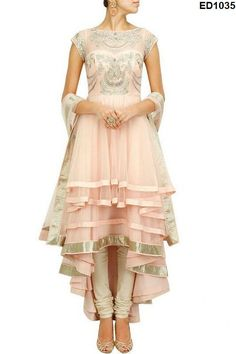Princess Designer Tail Cut Dress Magical by Ethnicdresses on Etsy, $224.55