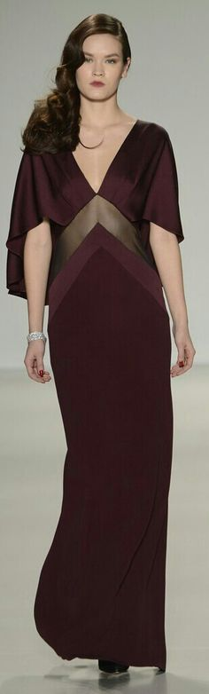 Pamela Rowland Fall 2014 RTW Love this raspberry color. .! http://www.wwd.com/runway/fall-ready-to-wear-2014/review/pamella-roland