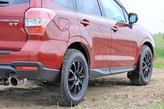 2014+ Subaru Forester Grey Logo, Rally Armor