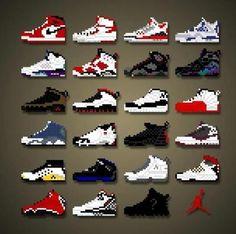 Pixel Jordans