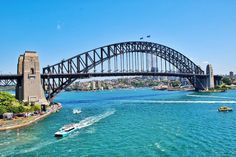 Sydney Harbour Bridge. Always beautiful #sydneyharbour #sydneyharbourbridge #sydney by thebarefoot_traveller http://ift.tt/1NRMbNv