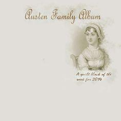 Austen Family Album: Label for the Austin Family Album Quilt