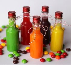 Skittles Vodka-totally doing this. a friend made some the other night and its amazing...and i don't even like vodka