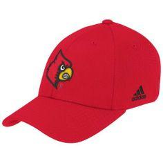 34f15df1e89 NCAA Louisville Cardinals Flex Fit Hat adidas.  8.89