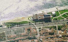 Museu de Arte, Arquitetura e Tecnologia de Lisboa tem inauguração prevista para este ano,Vista aérea. Image via Amanda Levete Architects