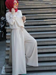 Tesettür tulum - hijab