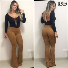 Body l Loja Lexa Fitwear Classy Outfits, Vintage Outfits, Cute Outfits, Hot Country Girls, Girl Fashion, Womens Fashion, Moda Fashion, Sexy Hot Girls, Bell Bottoms