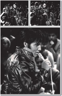 Elvis Presley: The '68 Comeback Special   -   pictures from an awesome collection (pictures and much more) of the australian site:   http://www.elvispresleymusic.com.au/