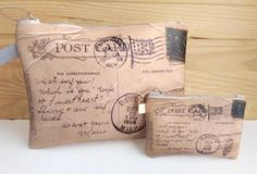 Bolso de mano en ecopiel Post Card