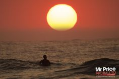 Mr Price Pro Ballito 2012. Sunrise on Day 5 of the Mr Price Pro Ballito 2012. © Kelly Cestari / Mr Price.