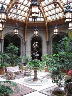 Malfoy Manor Indoor Garden