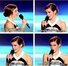 i have never watched harry potter but i am a Emma watsan fan She is so cute:)>>>>>you're an Emma Watson fan huh? It's funny that you can't spell her name right Mundo Harry Potter, Harry Potter Jokes, Harry Potter Cast, Harry Potter Fandom, Harry Potter World, Harry Potter Characters, Drarry, Dramione, Dibujos Percy Jackson