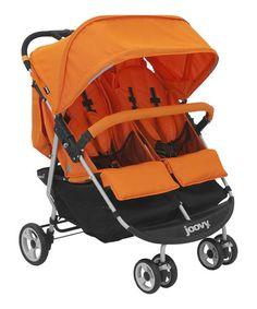 The Joovy® Scooter Double Stroller in black is revolutionary in the world of double strollers. Itu0027s a lightweight fit through any door side-by-side ...  sc 1 th 246 & Joovy - Hook Booster Seat - Orange Leatherette | High Chairs | Pinterest