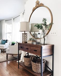 Hallway Decorating, Entryway Decor, Wall Decor, Room Decor, Entryway Ideas, Decorating Ideas, Decor Ideas, Console Table, Bryant Home