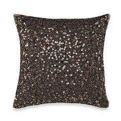 Palais Royale Droplets 12-Inch Square Toss Pillow - BedBathandBeyond.com