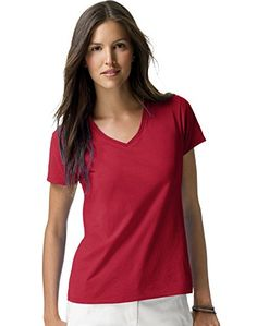 Special Offer: $5.50 amazon.com So Light And Soft, You'Ll Fall In Love With This T-Shirt In A Nano-Second.Ultra-Light Cotton Jersey Feels Fantastic Next To Your Skin.Sleek, Contoured Fit With Side Seams That Flatter Your Silhouette.Preshrunk For Great Fit Wash After Wash.Double-Needle...