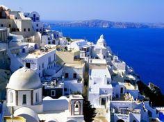 Fira Santorini Greece by gary.devries.777