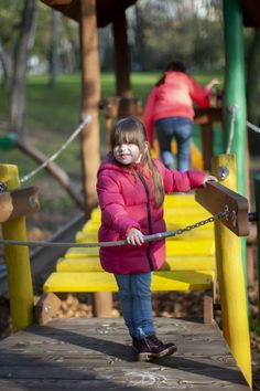 Alice's house, Slides, Playground equipment Playgrounds, Alice, Winter Jackets, House, Winter Coats, Winter Vest Outfits, Home, Homes, Houses