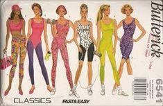 Resultado de imagem para fitness wear 80's