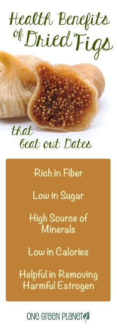 Health benefits of dried figs that even beat out dates