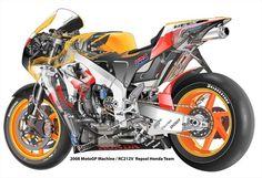 好きなバイクチームのイラストです。カウルを透過して内部のメカも表現しています。本体イラストの他にカウルを外した状態のイラスト出力(画面2参照/A4サイズ・額無...|ハンドメイド、手作り、手仕事品の通販・販売・購入ならCreema。