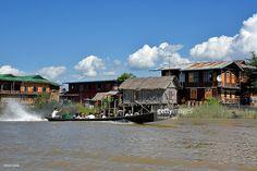 Thar Lay Village at Inle Lake, Myanmar, Asia.