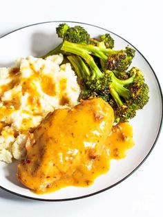 Try our slow-cooked chicken and gravy and you'll see how easy comfort foods can be to make. The chicken comes out perfectly cooked, with piping hot gravy ready to smother it all. This is one of my go-to's for a convenient, kid-pleasing meal.