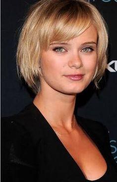 Image result for short fine hair bobs