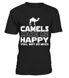 # Camel Make Me Happy T Shirt Gift For Camel Love .    COUPON CODE    Click here ( image ) to get COUPON CODE  for all products :      HOW TO ORDER:  1. Select the style and color you want:  2. Click Reserve it now  3. Select size and quantity  4. Enter shipping and billing information  5. Done! Simple as that!    TIPS: Buy 2 or more to save shipping cost!    This is printable if you purchase only one piece. so dont worry, you will get yours.                       *** You can pay the…