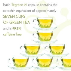 Catechins found naturally in green tea are shown to support healthy cell function and structure by neutralizing harmful free radicals. Tegreen Capsules, Green Tea Capsules, Green Tea Tablets, Anniversary Favors, Amazing Greens, How To Make Greens, Abraham Hicks Quotes, Nutritional Supplements, You Are Beautiful