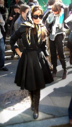 Miroslava Duma: Love the detail of the coat !