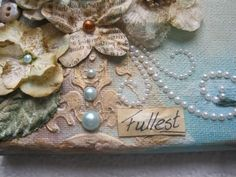 Swirlydoos Monthly Scrapbook Kit Club: Forums / Mixed Media Tutorials / 201 Class - Gesso - hit this gal up - great instruction/inspiration!