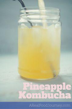 Pineapple Kombucha recipe