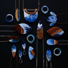 Designer Turns Salvaged Wood Fragments into Gorgeous Handmade Jewelry - My Modern Met