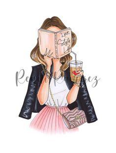 Art Mural Fashion, Fashion Artwork, Fashion Prints, Fashion Painting, Art Chanel, Chanel Print, Coco Chanel, Chanel Poster, Fashion Illustration Chanel